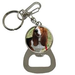 Basset Hound Sitting  Button Necklaces