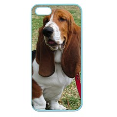 Basset Hound Sitting  Apple Seamless iPhone 5 Case (Color)
