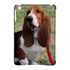 Basset Hound Sitting  Apple iPad Mini Hardshell Case (Compatible with Smart Cover)
