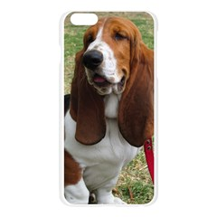 Basset Hound Sitting  Apple Seamless iPhone 6 Plus/6S Plus Case (Transparent)