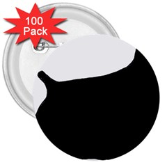 Cocker Spaniel Silo  3  Buttons (100 pack)