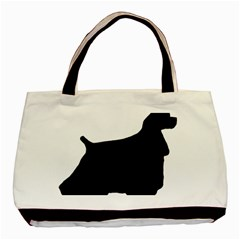 Cocker Spaniel Silo  Basic Tote Bag