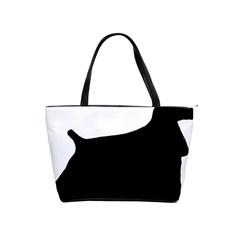 Cocker Spaniel Silo  Shoulder Handbags