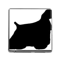 Cocker Spaniel Silo  Memory Card Reader (Square)
