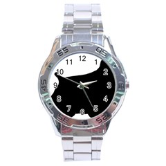 Cocker Spaniel Silo  Stainless Steel Analogue Watch