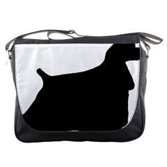 Cocker Spaniel Silo  Messenger Bags