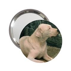 Dogo Argentino Laying  2.25  Handbag Mirrors