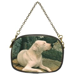 Dogo Argentino Laying  Chain Purses (Two Sides)