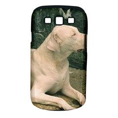 Dogo Argentino Laying  Samsung Galaxy S III Classic Hardshell Case (PC+Silicone)