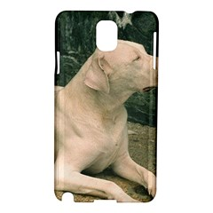 Dogo Argentino Laying  Samsung Galaxy Note 3 N9005 Hardshell Case