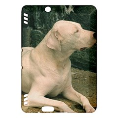 Dogo Argentino Laying  Kindle Fire HDX Hardshell Case