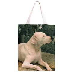 Dogo Argentino Laying  Classic Light Tote Bag