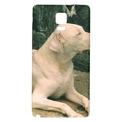 Dogo Argentino Laying  Galaxy Note 4 Back Case