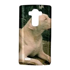 Dogo Argentino Laying  LG G4 Hardshell Case