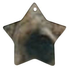 Whippet Brindle Eyes  Ornament (Star)