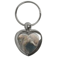 Whippet Brindle Eyes  Key Chains (Heart)