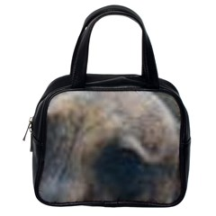 Whippet Brindle Eyes  Classic Handbags (One Side)