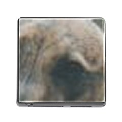 Whippet Brindle Eyes  Memory Card Reader (Square)