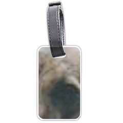 Whippet Brindle Eyes  Luggage Tags (Two Sides)