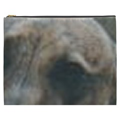 Whippet Brindle Eyes  Cosmetic Bag (XXXL)