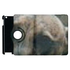 Whippet Brindle Eyes  Apple iPad 3/4 Flip 360 Case