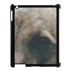 Whippet Brindle Eyes  Apple iPad 3/4 Case (Black)
