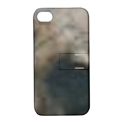 Whippet Brindle Eyes  Apple iPhone 4/4S Hardshell Case with Stand