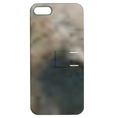 Whippet Brindle Eyes  Apple iPhone 5 Hardshell Case with Stand