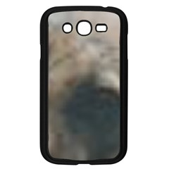 Whippet Brindle Eyes  Samsung Galaxy Grand DUOS I9082 Case (Black)