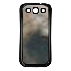 Whippet Brindle Eyes  Samsung Galaxy S3 Back Case (Black)