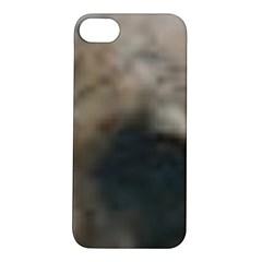Whippet Brindle Eyes  Apple iPhone 5S/ SE Hardshell Case
