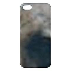 Whippet Brindle Eyes  iPhone 5S/ SE Premium Hardshell Case