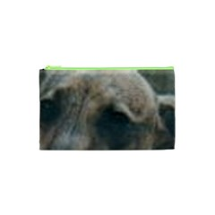 Whippet Brindle Eyes  Cosmetic Bag (XS)