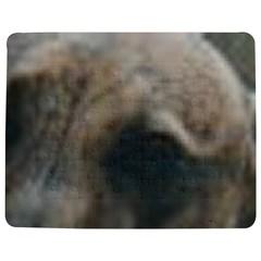 Whippet Brindle Eyes  Jigsaw Puzzle Photo Stand (Rectangular)