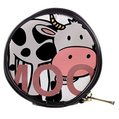 Moo Cow Cartoon  Mini Makeup Bags
