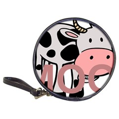 Moo Cow Cartoon  Classic 20-CD Wallets