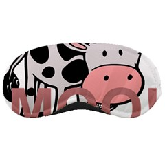 Moo Cow Cartoon  Sleeping Masks