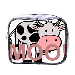 Moo Cow Cartoon  Mini Toiletries Bags