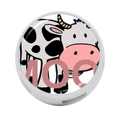 Moo Cow Cartoon  4-Port USB Hub (One Side)