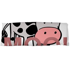 Moo Cow Cartoon  Body Pillow Case (Dakimakura)