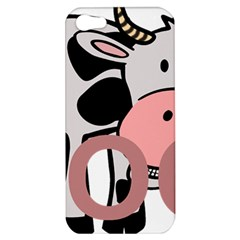 Moo Cow Cartoon  Apple iPhone 5 Hardshell Case