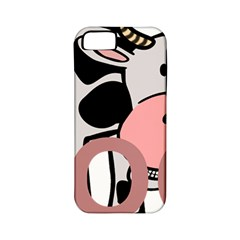 Moo Cow Cartoon  Apple iPhone 5 Classic Hardshell Case (PC+Silicone)