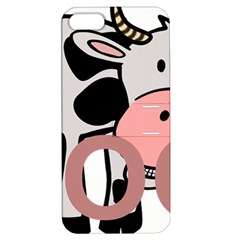 Moo Cow Cartoon  Apple iPhone 5 Hardshell Case with Stand