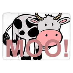 Moo Cow Cartoon  Samsung Galaxy Tab 8.9  P7300 Flip Case