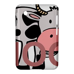 Moo Cow Cartoon  Samsung Galaxy Tab 2 (7 ) P3100 Hardshell Case