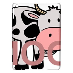 Moo Cow Cartoon  iPad Air Hardshell Cases