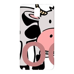 Moo Cow Cartoon  Samsung Galaxy Note 3 N9005 Hardshell Back Case