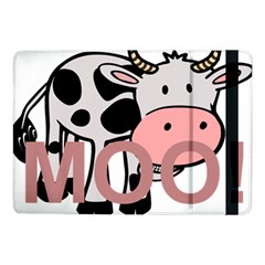 Moo Cow Cartoon  Samsung Galaxy Tab Pro 10.1  Flip Case
