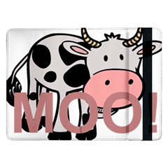Moo Cow Cartoon  Samsung Galaxy Tab Pro 12.2  Flip Case