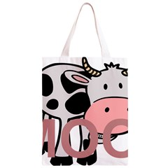 Moo Cow Cartoon  Classic Light Tote Bag